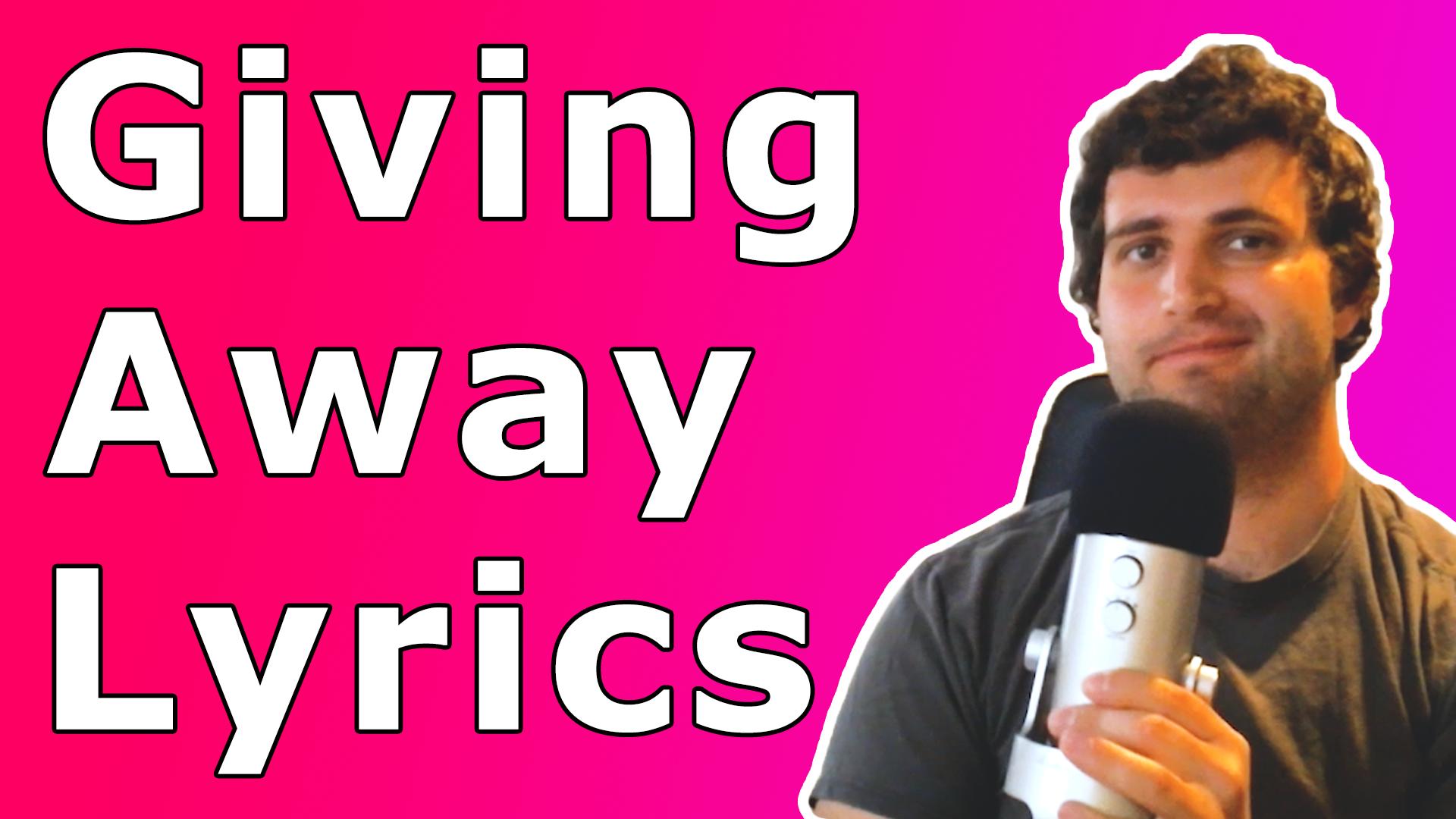 @givingawaylyrics